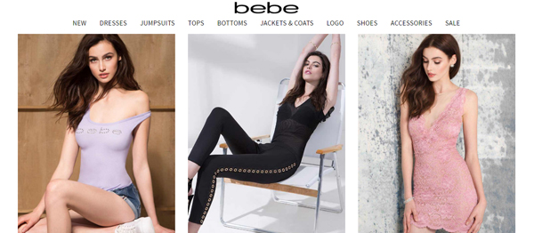 Bebe : Sexy, Stylish and Affordable Online Clothing Store for Women