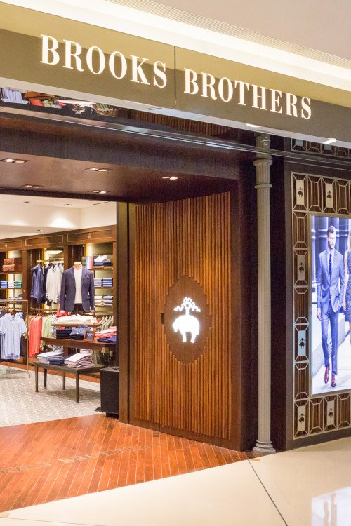 Clothing Brands and Stores Like Brooks Brothers in The United States