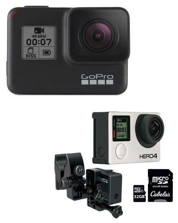 Cabela's Action Cameras, Accessories & Memory Cards