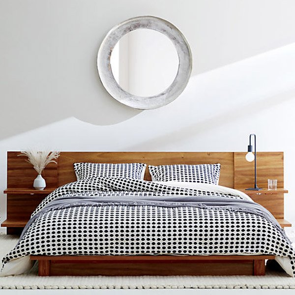 CB2 Modern Wood Furniture for Bedroom