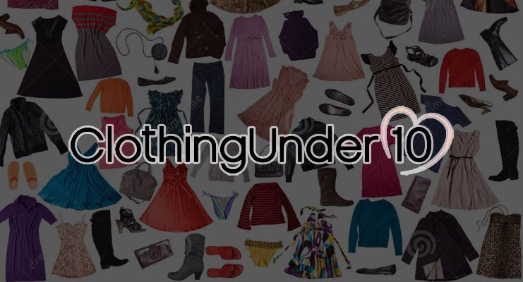 Clothing Under $10 Stores