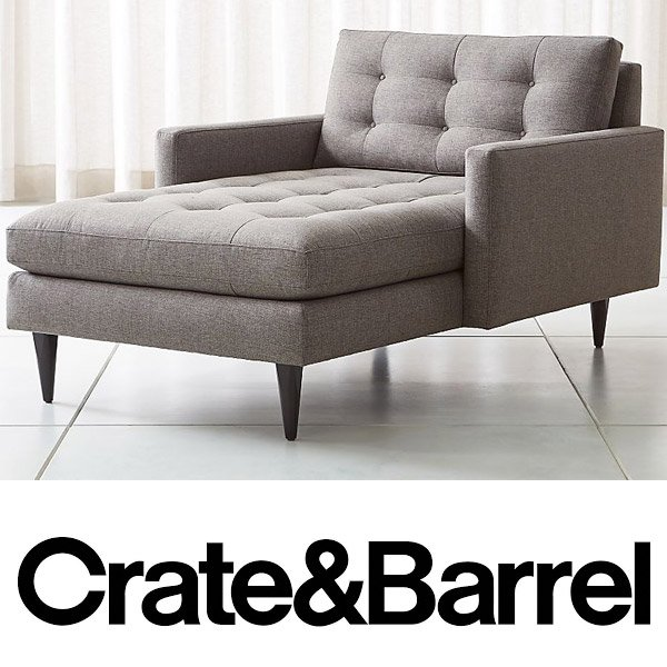 Crate & Barrel Chaise Lounges