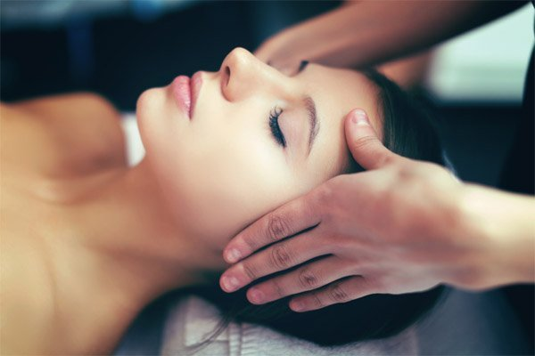 Face Massage to Improve Blood Circulation
