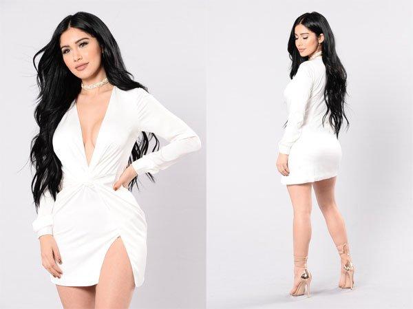 Fashion Nova Sugar Free Dress