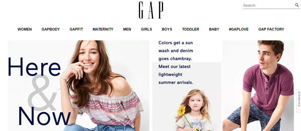 GAP Stores : Shop Clothing online for the whole family including maternity and plus size