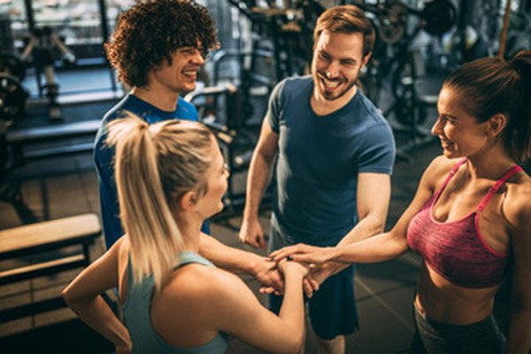 Group of Positive and Fitness Enthusiast Individuals