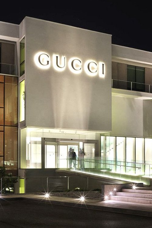 Luxury Stores and Designer Fashion Brands Like Gucci