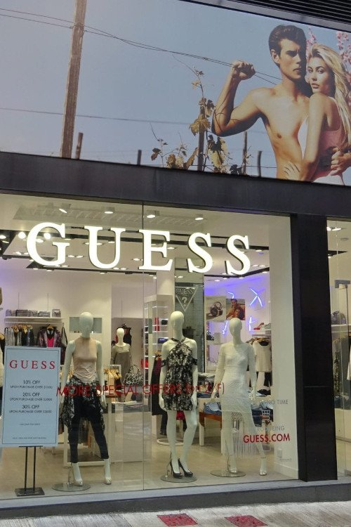 Clothing Stores and Brands Like Guess