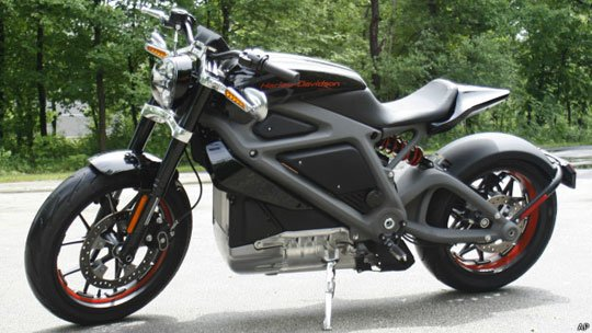 Electric Motorbike by Harley Davidson