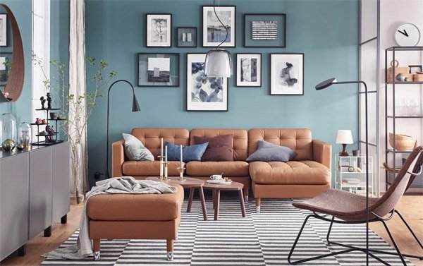 IKEA Affordable Sofa Sets for Living Rooms
