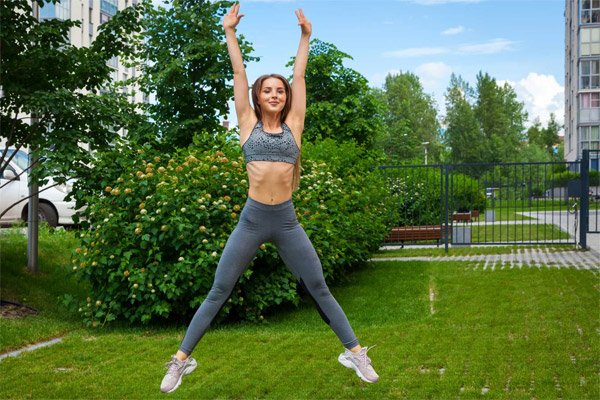 Jumping Jacks for Quick Warm-Ups