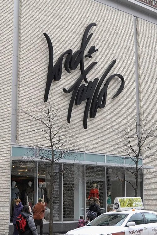 Upscale Department Stores Like Lord and Taylor
