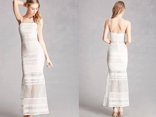Mesh Cami : White Prom Dresses At Forever 21