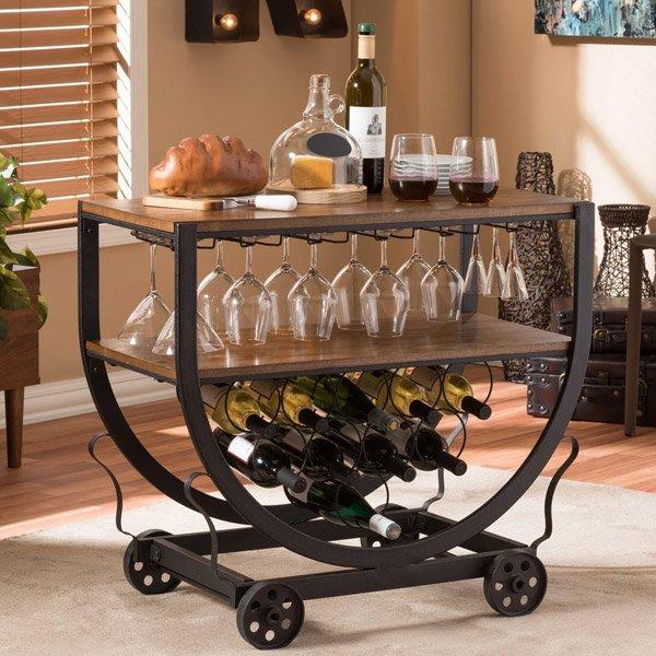 Overstock Bar Carts