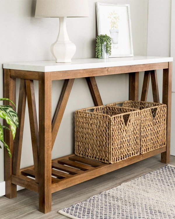 Pier 1 Console Tables for Entryway