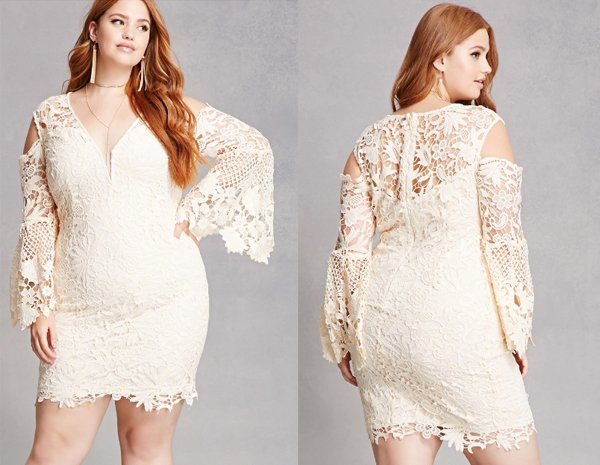 Crochet Lace, Plus Size White Dresses At Forever 21