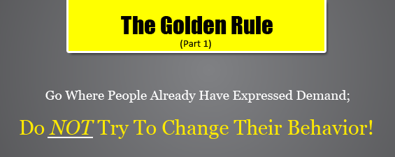 How To Choose a Profitable Niche? The Golden Rule