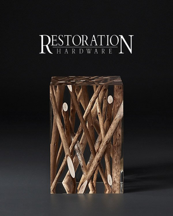 Restoration Hardware Accent Stools & Designer Furniture