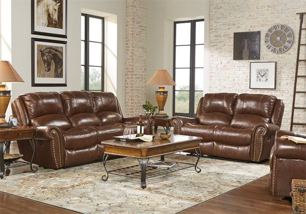 Rooms To Go Leather Living Room Sets with Recliner