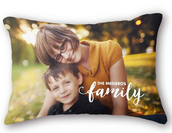 Snapfish Custom Pillows with Pictures