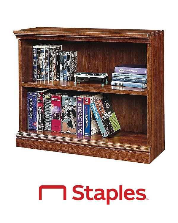 Staples Accent Bookshelves and Bookcases