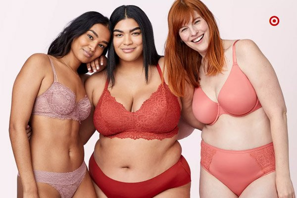 Women's Intimates at Target Stores