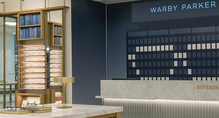 Warby Parker Brand Stores