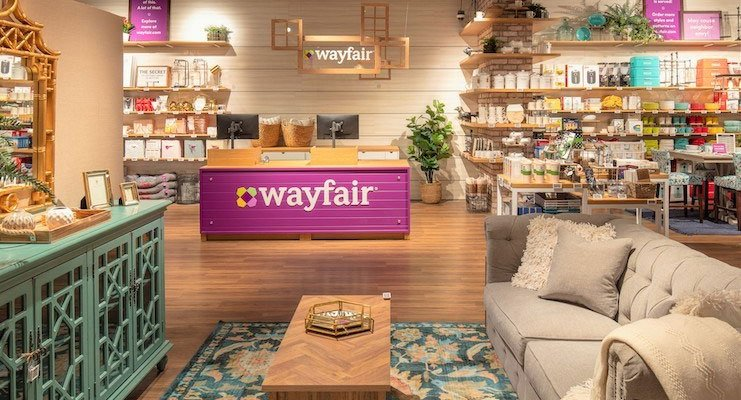 Wayfair Furniture Stores
