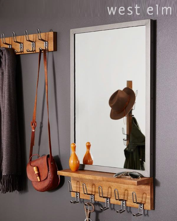 West Elm Entryway Wall Mirrors