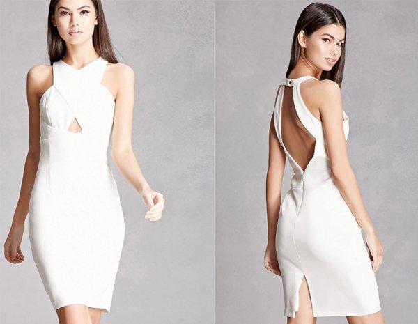 White Halter Dresses At Forever 21